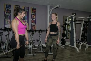 one woman training another woman